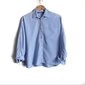 Zara Snap button front Shirt